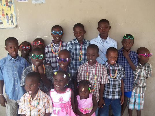What do haiti people dress like?