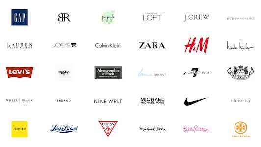 women clothing brands