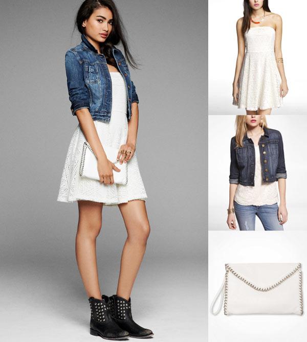 Dress Jean Jacket