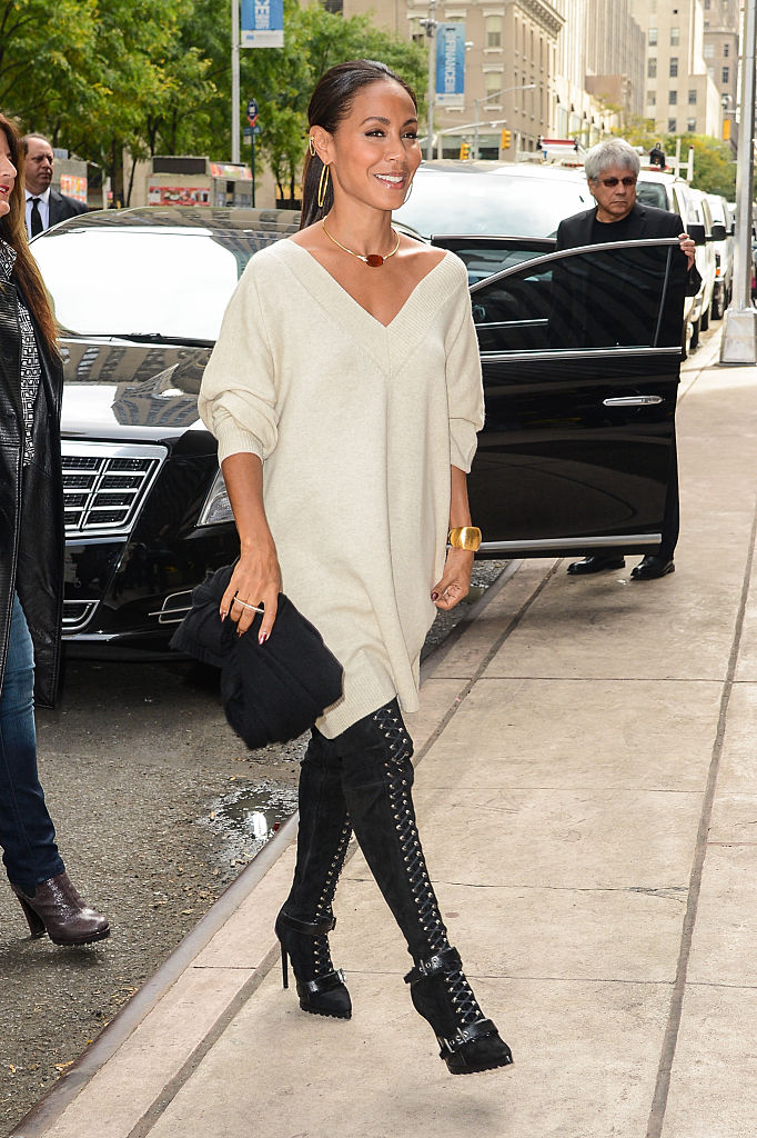 Celebrity Sightings In New York City - October 10, 2014