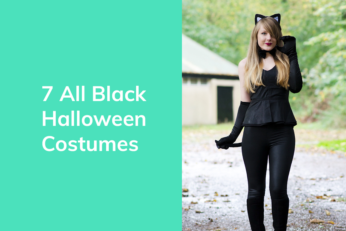 5c87f3959 7 All Black Halloween Costumes You Can Make From Your Own Clothes | thrEDIT