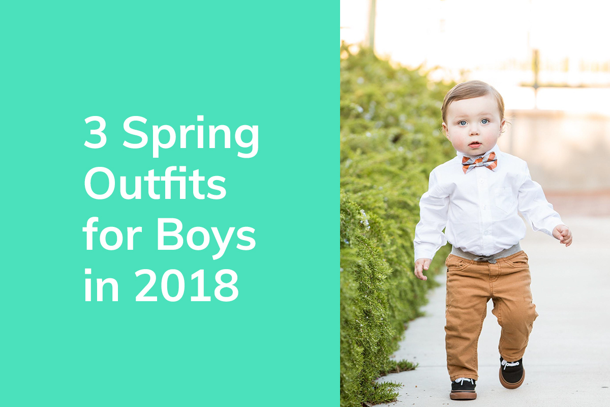 3 Spring Outfits for Boys in 2018 | thrEDIT